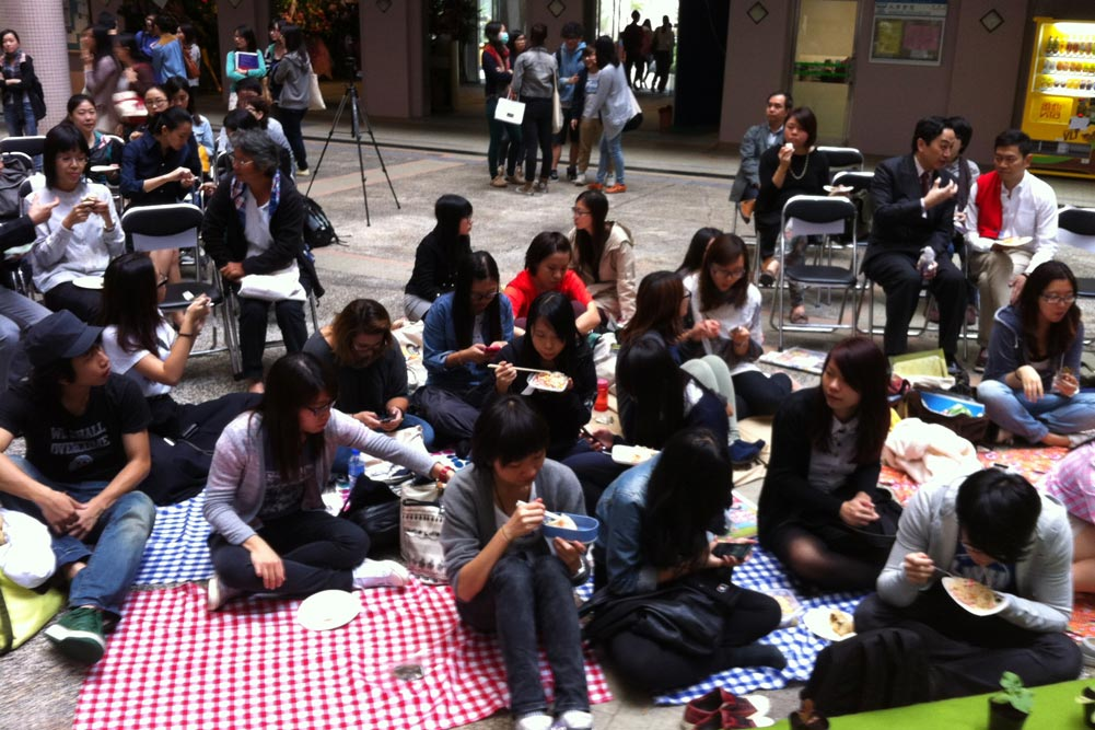 Lost Food event at Hong Kong Baptist University