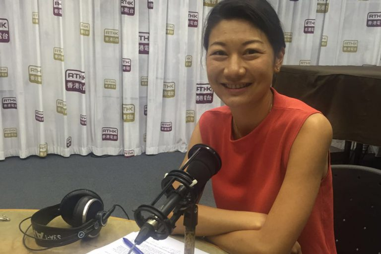 Habits Eating Out on air at Backchat RTHK radio