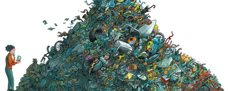 SCMP illustration for Six Hong Kong Zero Waste Champions article