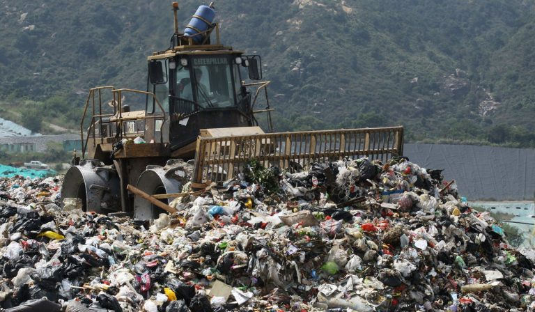 Image of a Landfill in Hong Kong