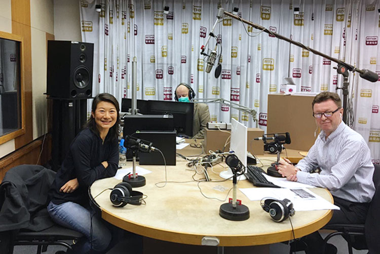 Daisy Tam discusses Food Shortage on RTHK Backchat