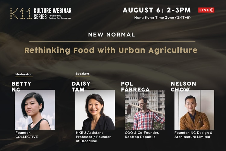 K11 Webinar Rethinking Culture Through Urban Agriculture